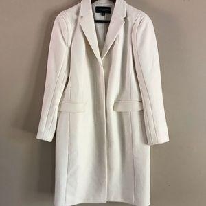 ANN TAYLOR Winter White Long Coat - MP